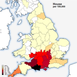 House surname map