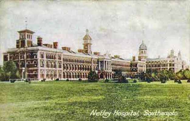 Postcard of Netley Hospital Southampton