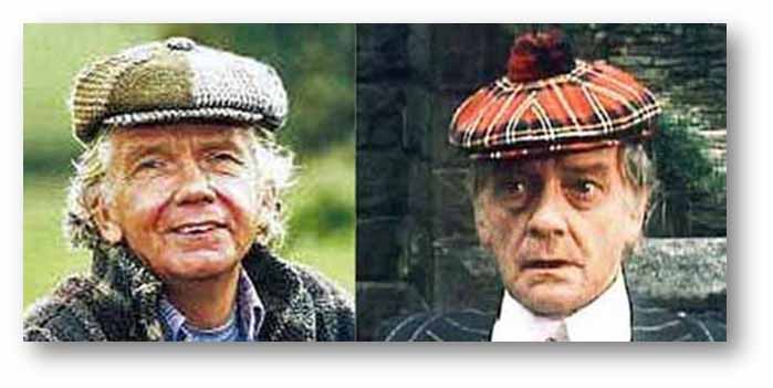 77adb86f119 Above  Tom Owen and father Bill in nifty headgear in episodes of Last Of  The Summer Wine. Right  Bill and Tom in 1965 when the son was a teenager.