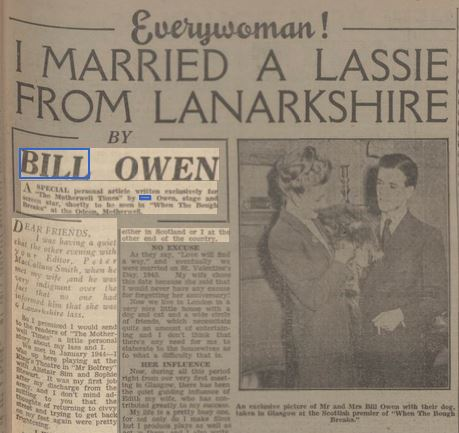 Motherwell Times 6 Feb 1948